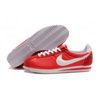 Womens Nike Cortez Nylon Red White