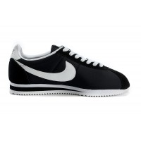 Womens Nike Cortez Nylon Black White